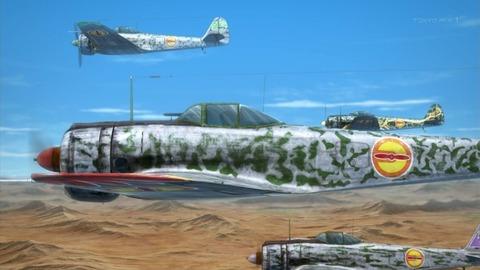 荒野のコトブキ飛行隊 4話 感想 448