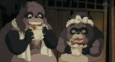 ジブリ 平成狸合戦ぽんぼこ ハンバーガー