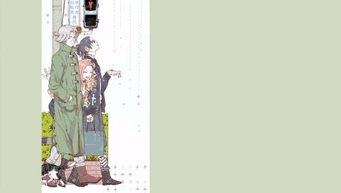 東京喰種 トーキョーグール 3話 EDイラスト 3