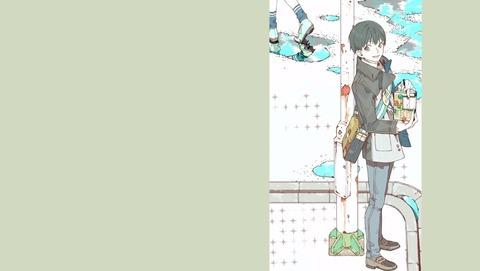 東京喰種 トーキョーグール 3話 EDイラスト 8