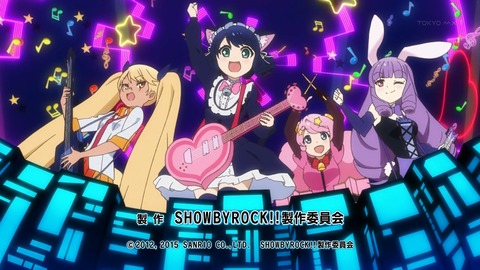 SHOW BY ROCK 6話 感想 38