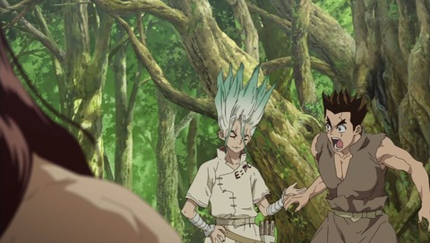Dr.STONE 2話 感想 0116