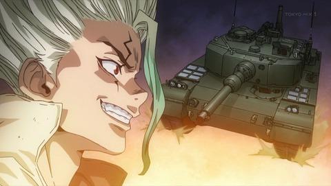 【Dr.STONE 2期】第5話 感想 究極素材の装甲戦車!【ドクターストーン STONE WARS】