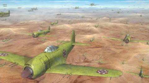 荒野のコトブキ飛行隊 11話 感想 063