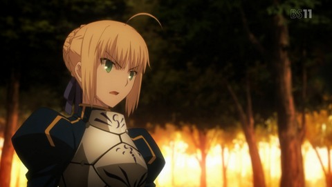 Fate stay night UBW 9話 感想 727