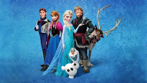 アナと雪の女王 BD DVD 46