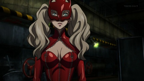 PERSONA5 the Animation 1話 感想 500