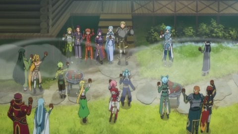 SAO  24話 感想 ソードアート・オンライン 最終回 43