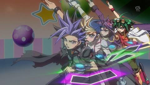 【遊戯王ARC‐V】第148話 感想 四人の力を一つに!【最終回】