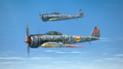荒野のコトブキ飛行隊 4話 感想 446