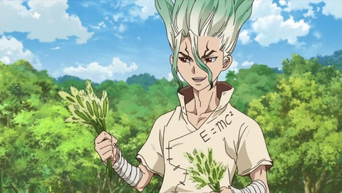 Dr.STONE 8話 感想 0215