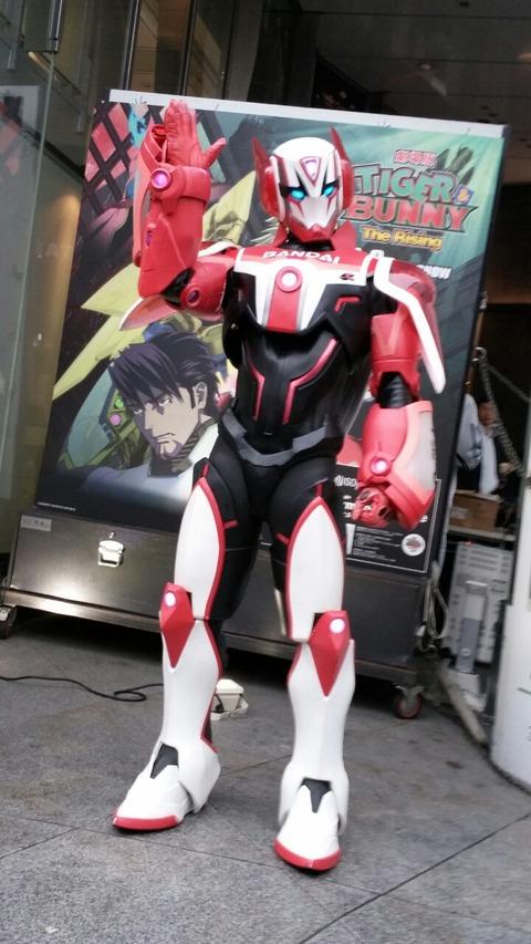 TIGER&BUNNY ショップ 渋谷 TSUTAYA タイバニ 9