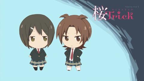 桜trick 7話 感想 2806