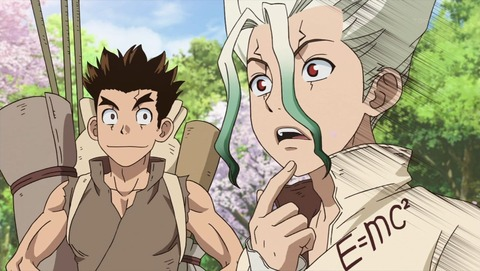 Dr.STONE 3話 感想 0207
