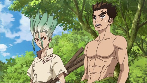 Dr.STONE 1話 感想