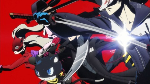 PERSONA5 the Animation 1話 感想 119