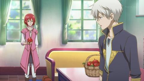 赤髪の白雪姫 1話 3350