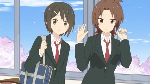 桜trick 1話 感想 1148