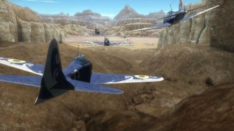 荒野のコトブキ飛行隊 11話 感想 147