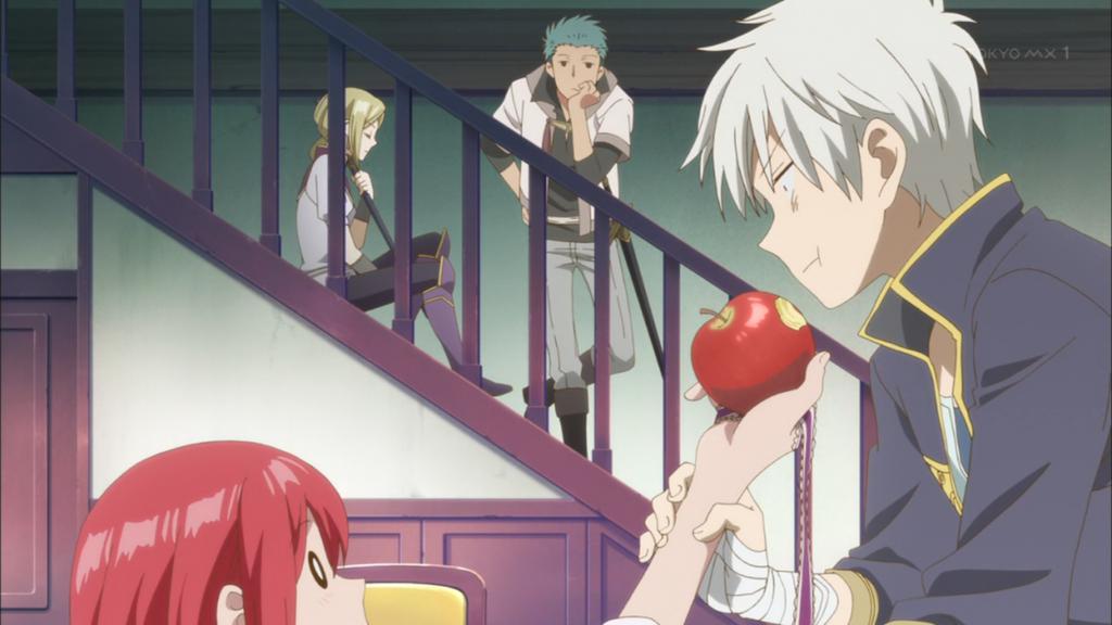 赤髪の白雪姫22