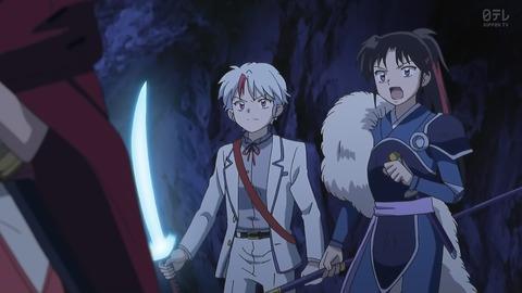 半妖の夜叉姫 8話 感想 032