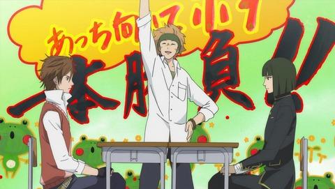 【学園BASARA】第5話 感想 島左近と柴田勝家のあっち向いてホイ対決、そしてお料理対決