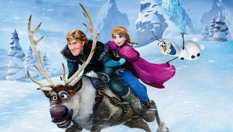 アナと雪の女王 BD DVD 34