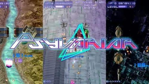 名作STGがSwitchとPS4で登場『サイヴァリア デルタ』8月30日発売決定!
