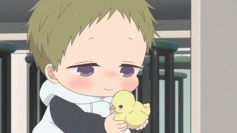 【 学園ベビーシッターズ 】 10話 感想  コタローの頑張りもあってヒヨコ孵化!!  隼もちょっとだけポイントアップ
