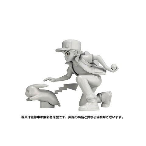 『ポケモン』コトブキヤ「レッド&ピカチュウ フィギュア」20周年を記念して杉森建氏が描き下ろしたレッド&ピカチュウを立体化