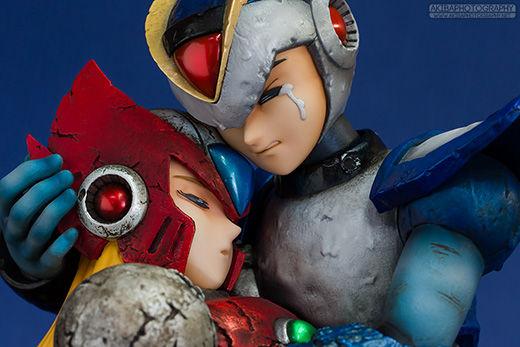 デコマスレビュー ロックマンX-コミック版- エックス&ゼロ「懐かしい未来へ…」 [ホビージャパン限定通販]
