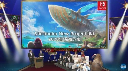 【白猫プロジェクト】コロプラ「Shironeco NewProject」をニンテンドースイッチ向けに発表!2020年発売予定