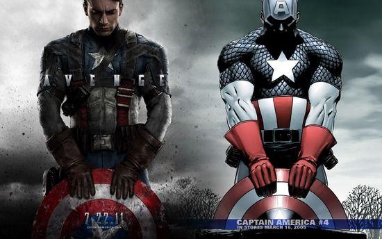 アメリカのヒーロー→筋肉ムキムキのおっさん