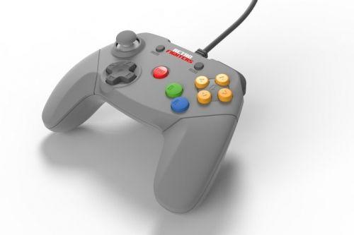 64コントローラーを現代風にアレンジ、最新型ニンテンドウ64専用コントローラーが登場!