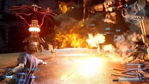 『ファイナルファンタジーXV』最新戦闘シーンが公開! 魔法や武器を駆使して戦う様子をチェック
