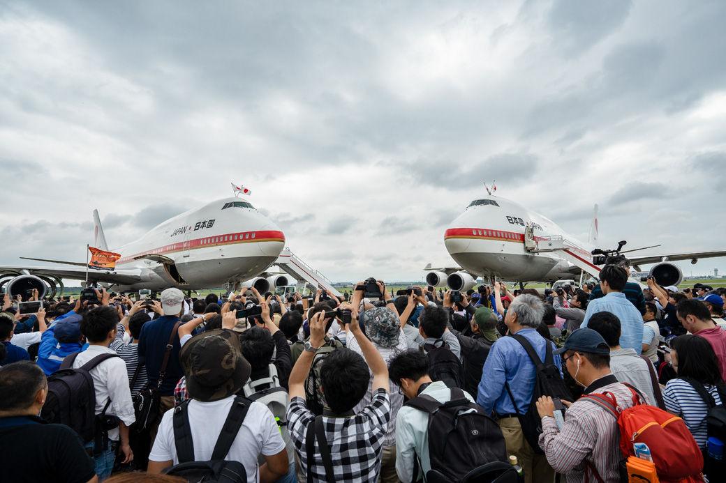 B747政府専用機の最後の展示だった千歳基地航空祭と、味の羊ヶ丘のジンギスカン