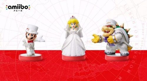 『スーパーマリオ オデッセイ』マリオがウェディングドレス姿に!