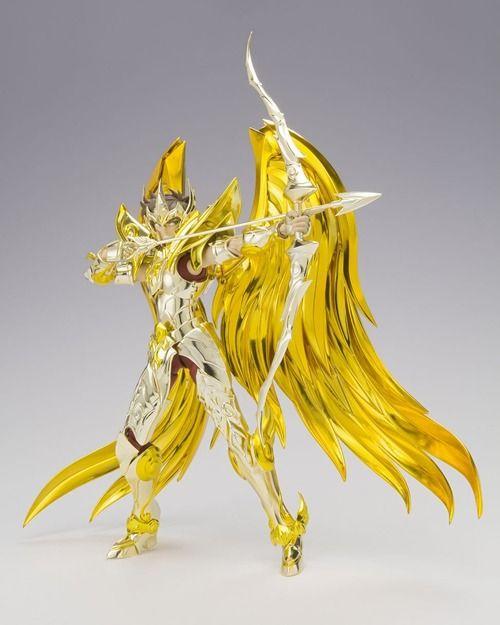 【聖闘士聖衣神話EX】フィギュア「サジタリアスアイオロス(神聖衣)」予約開始!EXならではの可動と豊富なオプションパーツで劇中のシーンを再現