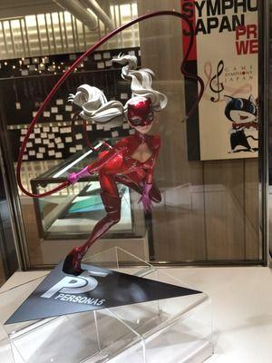 【ペルソナ5】AMAKUNI「高巻杏 怪盗Ver.」とコトブキヤ「ARTFX J P5主人公」フィギュアの最新デコマスが展示に