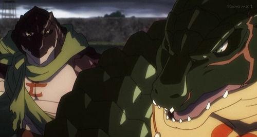 【オーバーロードII(2期)】3話感想 ザリュース達カッコよかった!原作からすると駆け足っぽいが密度は濃厚