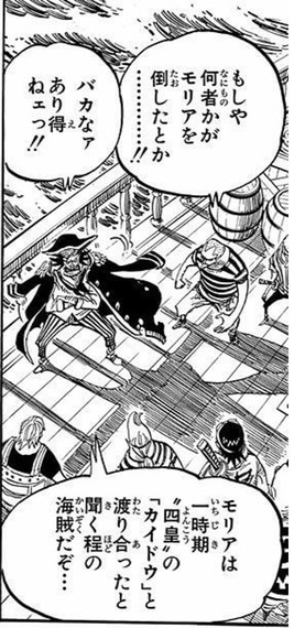 0433fb14 - 【ワンピース】「ミホークは七武海の一角。他にヤバいのが6人いる」←これ