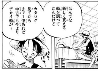 【ワンピース】ルフィの知能(画像)