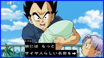 【画像】べジータ「娘にはサイヤ人らしい名前を」→結果