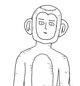 1eb8e6f6 - 【ワンパンマン】ONE「一応僕からも各所台詞の提案やしてます」→ハゲ猿ぬいぐるみモードのサイタマ