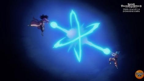 2a075562 s - 『スーパードラゴンボールヒーローズ 監獄惑星 』第1話 感想..悟空vs悟空! 4とブルーが同等ww ベジットブルーかっこええ