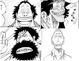【ワンピース】4大印象に残ってるモブキャラ(画像)