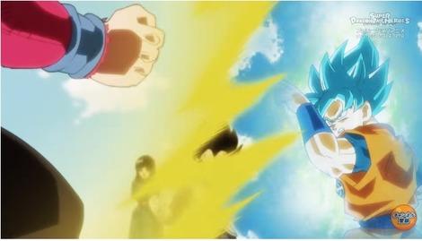 73bd9686 s - 『スーパードラゴンボールヒーローズ 監獄惑星 』第1話 感想..悟空vs悟空! 4とブルーが同等ww ベジットブルーかっこええ