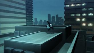 8c030ff4 s - 【呪術廻戦】OPの屋根の上を走るパンダの姿最高『海外の反応』