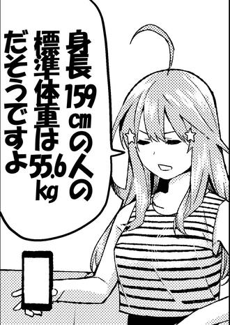 8f24c9f0 s - 【五等分の花嫁】四葉って体重軽いの?