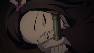 b464cfbd s - 実況【鬼滅の刃】23話 感想…禰豆子、風柱の血に打ち勝つ